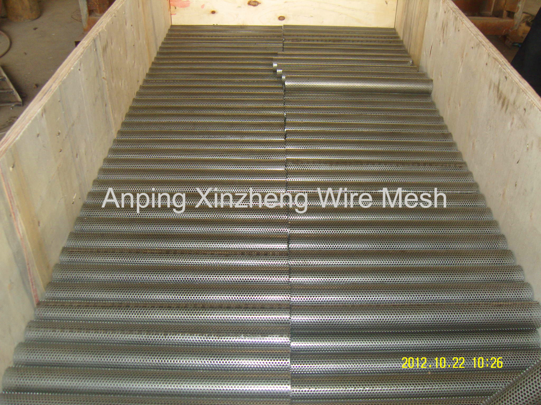 Perforated Mesh Tube