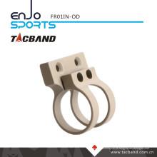 Tacband Offset tático lanterna montagem tático caça lanterna para Keymod 1 polegada anel Olive Drab