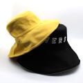 Patchs de broderie de chapeau de seau d'extérieur personnalisé en coton