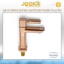 Deck mounted cold water bronze finished bathroom faucet