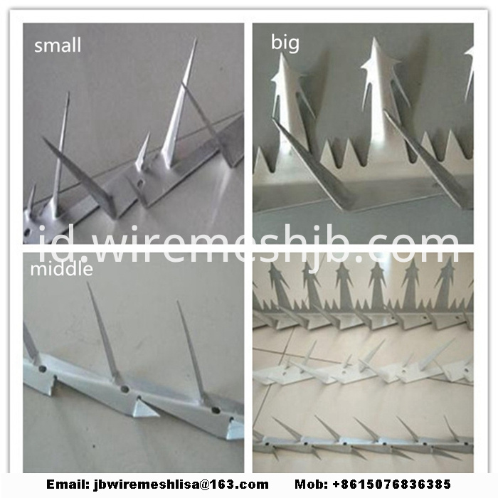 Powder Coated And Galvanized Wall Spike