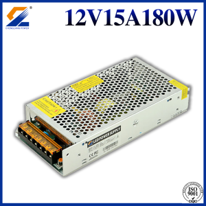Conducteur de la LED 12V 15A 180W