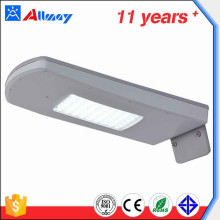 Sensor de movimiento Solar Powered Outdoor LED Luz de calle