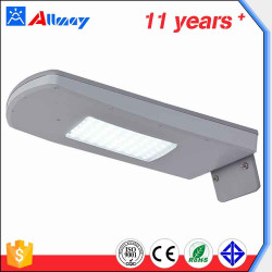 10W Motion Sensor Solar Powered Outdoor LED Street Light