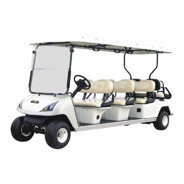Chine OEM personnaliser le chariot de golf électrique de 8 sièges (DG-C6 + 2) avec Ce