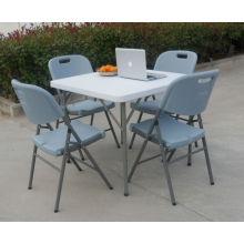 Ver tabela quadrada dobrável em forma de imagem maior, usado porta mesa de café mesa quadrada dobrável, usado porta mesa de café mesa quadrada dobrável