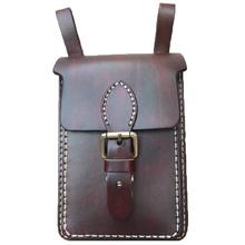 Vintage Leder Schulter Handy Umhängetasche