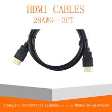 1.3V / 1.4V / 2.0V Cable HDMI de alta velocidad