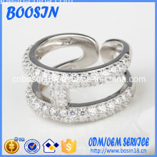 Eternal Adjustable Silver Ring for Man