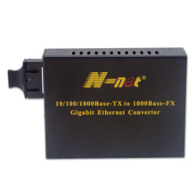 Fiber Media Converter Gigabit 120KM