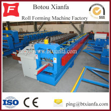 Color Steel Round Square Rain Gutter Roll Forming Machine