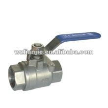 1000WOG 1 pouce 2 PC gaz robinet à tournant sphérique passage intégral