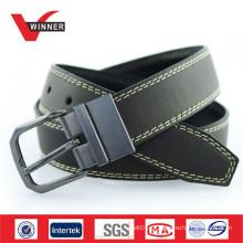 Fivela reversível Black Mens PU Belts