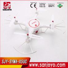Original Syma X5UC Drone com Câmera HD 2.0MP Barômetro Definir Altura Função RC Quadcopter RTF SJY-X5UC