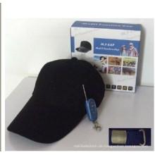 Cap Cam DVR Hut Kamera mit Speicherkarte innen