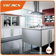 Fábrica de preços razoáveis e aceitáveis diretamente móveis de cozinha prefabricados para o mercado do Canadá