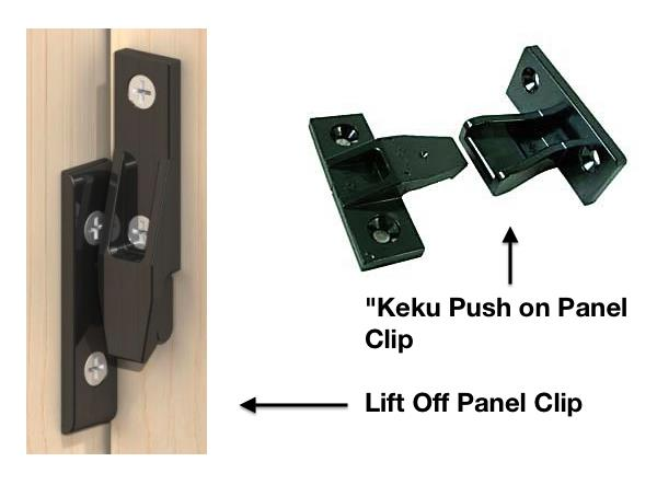 China Keku Panel Clips Manufacturers