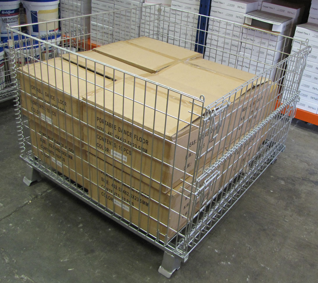 High Strength Industrial Pallet Cages