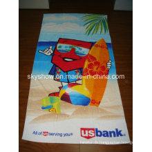 Cartoon Baumwolle gedruckt Handtuch (SST0251)