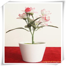 PU Silk Rose Simulation Flowers Plant for Decoration