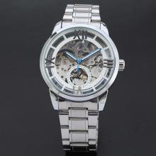 winner alloy mechanical watch with small dial design