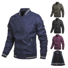 Hot Sale Fleece Lined Baseball Jackets Custom