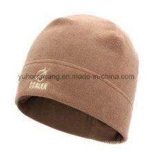 Зимний теплый вязаный шлем / кепка из флиса