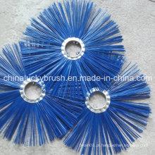 Blue PP material dom escova para máquina de saneamento (YY-486)