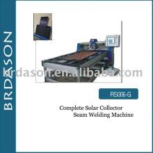 Machine complète de soudure de couture de collecteur solaire