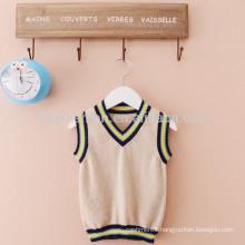 kids knit vest pattern child sleeveless vest sweater