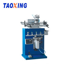 CE Plastic Plastic pole Rod Screen Printing Machine