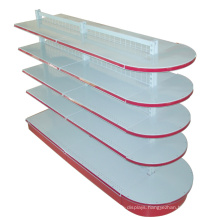 Shapely Round Supermarket Metal Shelving (YD-014)