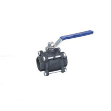 Laki-laki Threaded Ball Valve Lever