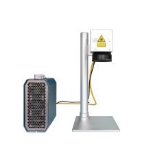 Marca de fábrica de la marca de fábrica de Ipg de Rusia Máquina de estampación del laser de la fibra de calidad superior / marcador del laser de la fibra