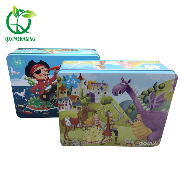 Tin Box For Paper Card