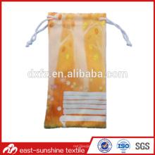 Pequeños bolsos modificados para requisitos particulares pequeños de la microfibra de la lente de la venta al por mayor