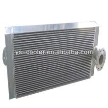 Intercambiador de calor tipo aceite de aleta de aluminio y agua para maquinaria de construcción
