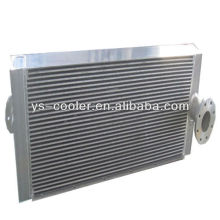 aluminium fin type oil &water heat exchanger for construction machinery