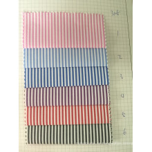 100% Baumwolle Y / D Streifen Stoff (ART. NR. UYDFY3105)
