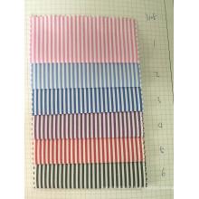 100% coton Y / D Stripe tissu (ART n ° UYDFY3105)