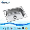 Overmount pearl sand surface treatment single rectangular bowl hand washing sink Foshan factory