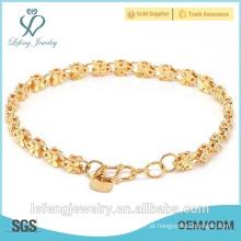 Novo design pulseira de borboleta banhado a ouro factory18K