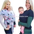 Alibaba wholesale rosafarbene dehnbare Verpackungsschachtel des Babytragetuchs Babytragetuchträger