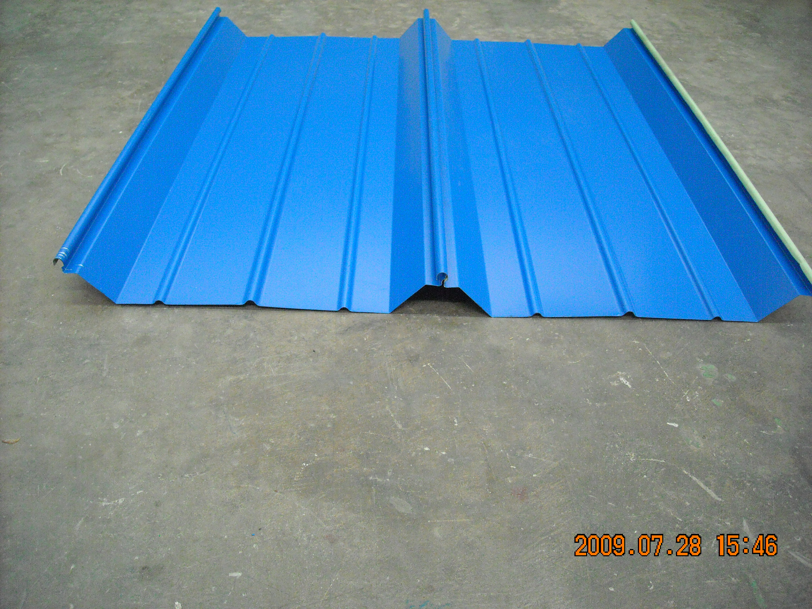Roll-Formed Corrugated Panel