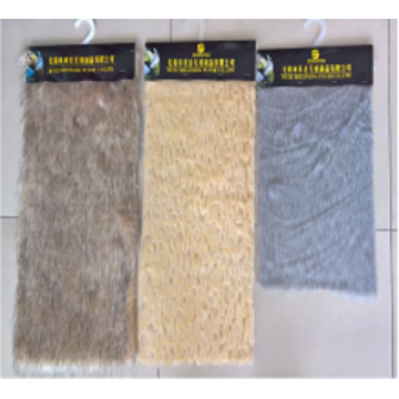 Tipping and Shearing Natural Wool Faux Fur