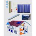Capteurs solaires de pression de tuyau de chaleur