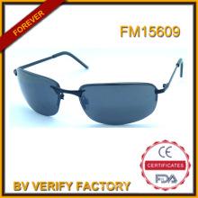 FM15609 Nouveau Design hommes Cool Lunettes de soleil métalliques, rencontrer UV400 CE FDA