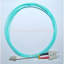 SC / LC Duplex 50/125 OM3 Fibra Óptica Patch Cord