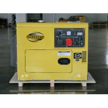 Yellow Generator Popular Design 8kVA Silent Diesel Generator CE ISO Approved