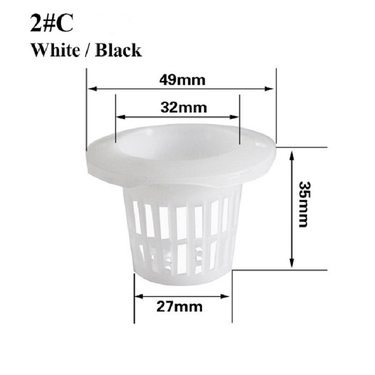 32mm Hydroponic NFT Net Pots For Grwoing Vegetables
